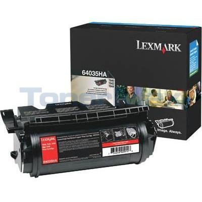 LEXMARK T644 PRINT CARTRIDGE BLACK 21K
